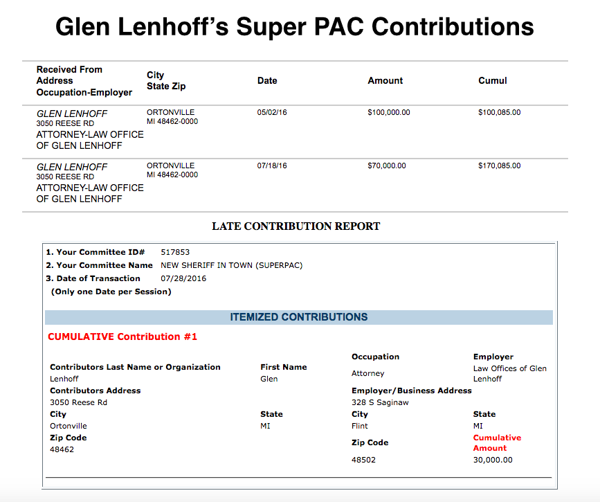 Attorney Says He's 'Proud' Of Giving $200,000 To A Super PAC